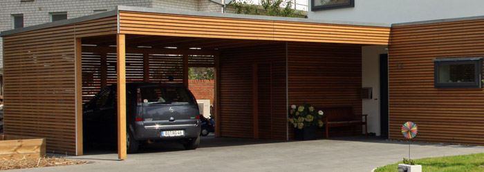 Carports die optimale und individuelle option zu garagen for Holzkonstruktion carport